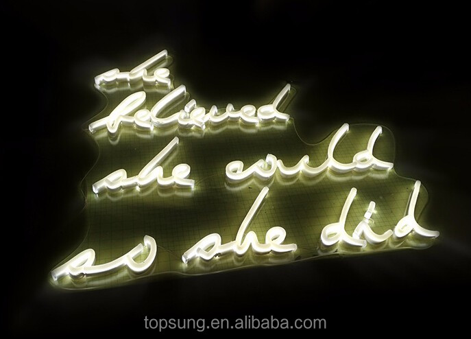 Custom made Led Neon Signs letter for outdoor