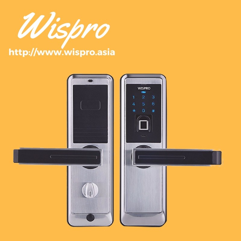 High security designt digital fingerprint smart door lock