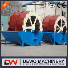 Single Wheel VS double Wheel Sand Washer Equipment China Top Manufacture