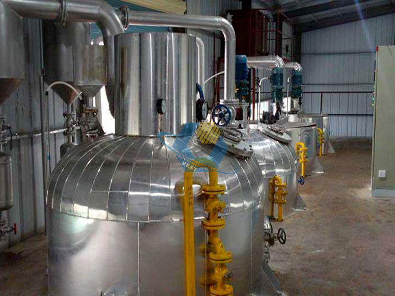 Full automatic peanut oil making machine