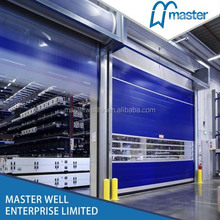 CE approved PVC soft high speed door/ high speed roll up door