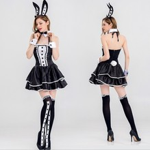 2019 venta al por mayor las mujeres traje cosplay carnaval animal halloween disfraz sexy animal adulto dama sexy traje