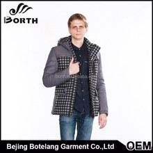 Men cotton padded coat new brand winter men's wadded fashion warm man winter jacket greatcoat clothing