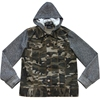 High quality competitive price leisure denim army camo jacket