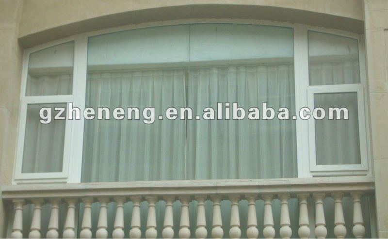 American style PVC casement windows W-P92