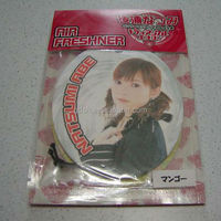 paper card air freshener car japanese