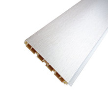 100mm aluminum foiled pvc kitchen cabinet skirting board