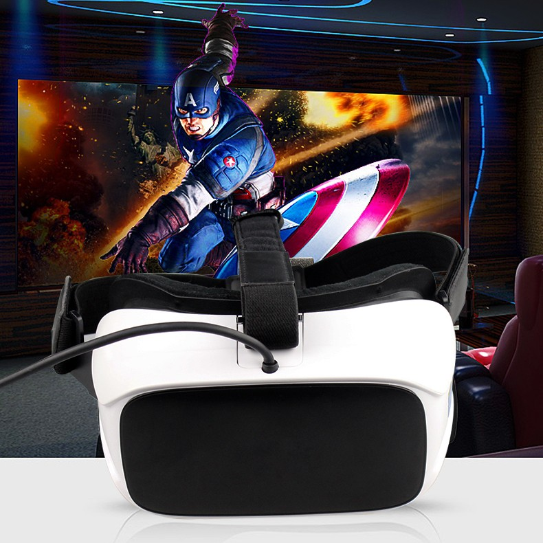 2017 VR All In One 3D glass VR headset 2560*1440p HD screen with Android 5.1 and Nibiru OS