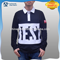 wholesale long sleeve super soft 100% cotton mens polo shirt design free sample offered