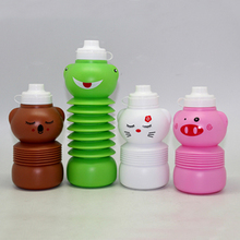 collapsible beverage dispenser bottle/plastic military canteen/kids bottle