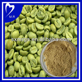 100% Natural Green Coffee Bean Extract 90%