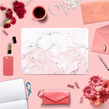 Wholesale High Quality Decorative Full Body Vinyl Pink Marble Laptop Sticker for Apple Macbook