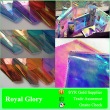 Lamination Plastic TPU Dichroic Iridescent Film for Making Bags