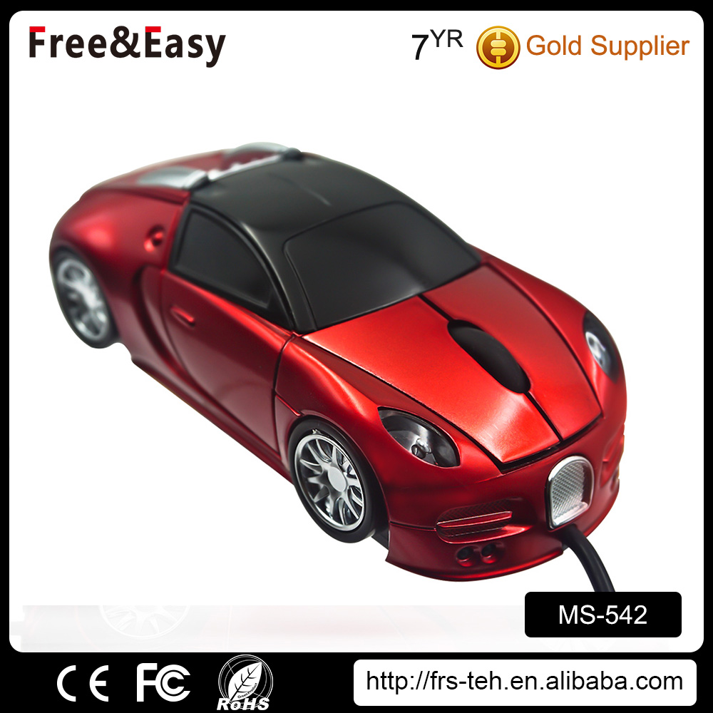 Customized LOGO computer car mouse manufacturer/computer accessory