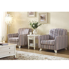 Fabric upholstered living room single sofa with table hotel living room <strong>furniture</strong>