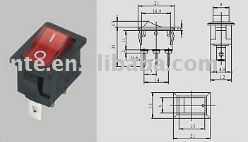 Rocker switch IM-K051