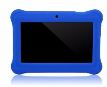 safe!! kid tablet 7inch Allwinner A33 quad Core android tablet with two Camera 1024*600 Display Any Colors Q