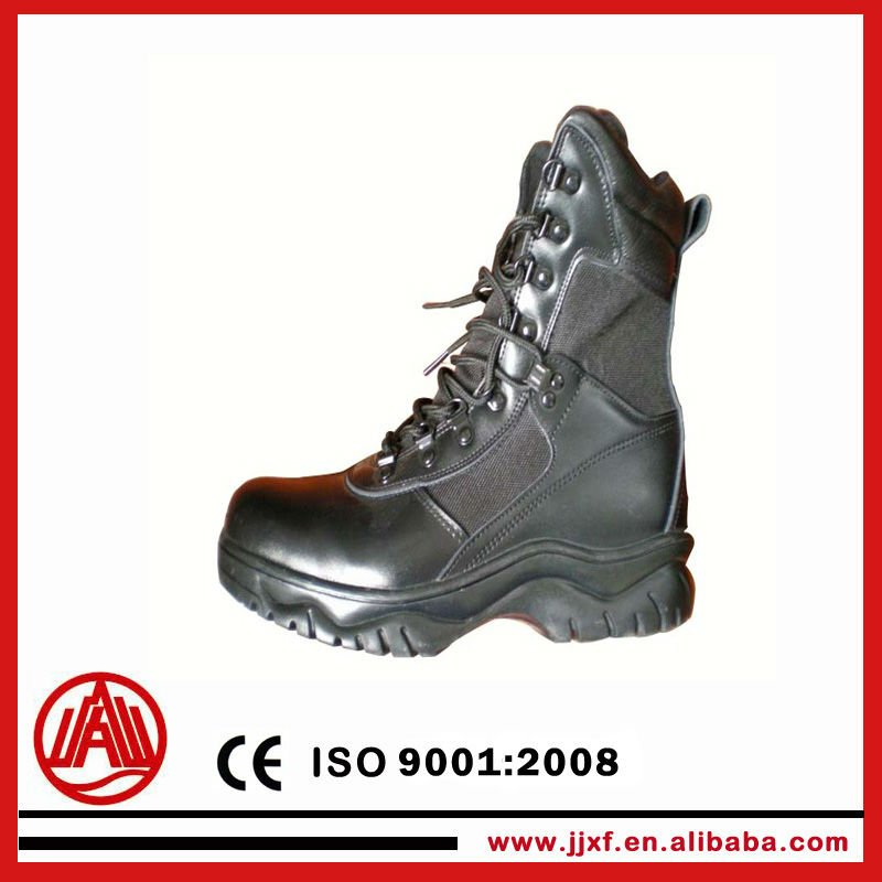 firefighting safety leather shoes fire boots