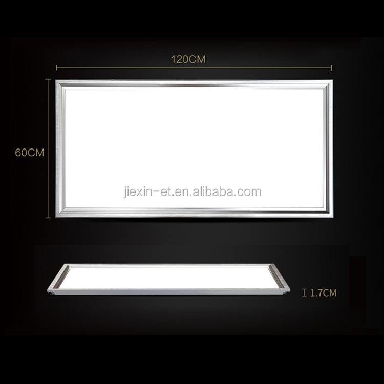 Dimmable frameless 18w 36w 40w ultra thin / slim flat price surface mounted 595*595 ceiling square led panel light