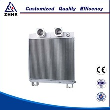 aluminum oil to water heat exchanger
