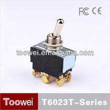 CE,IP67,RoHS on off on machine toggle switch