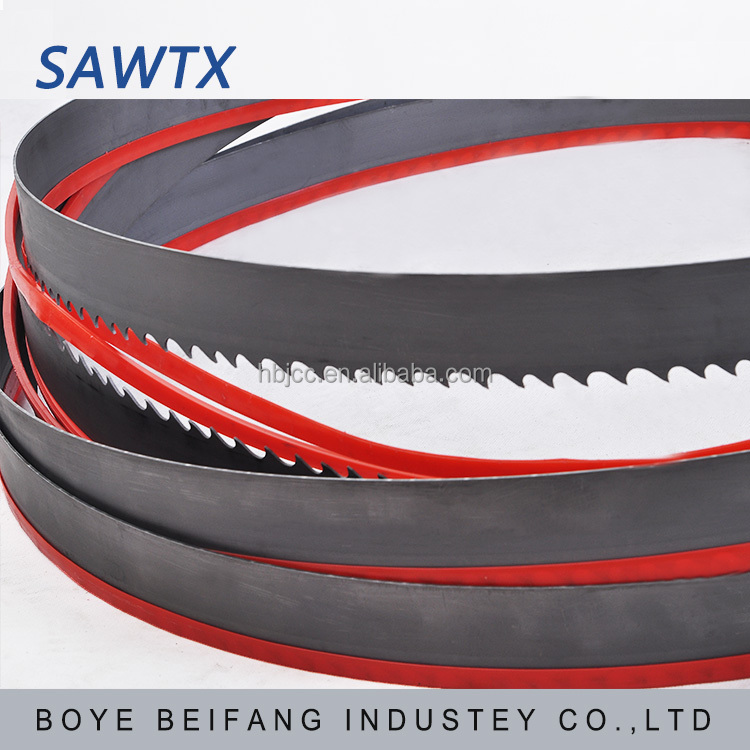 hard metal cemented carbide tipped band saw blade for cutting stainless steel metal