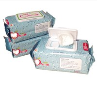 alibaba online shopping Non-woven baby wet wipes