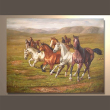 2014 New Product Of Modern Horse Painting Wholesale