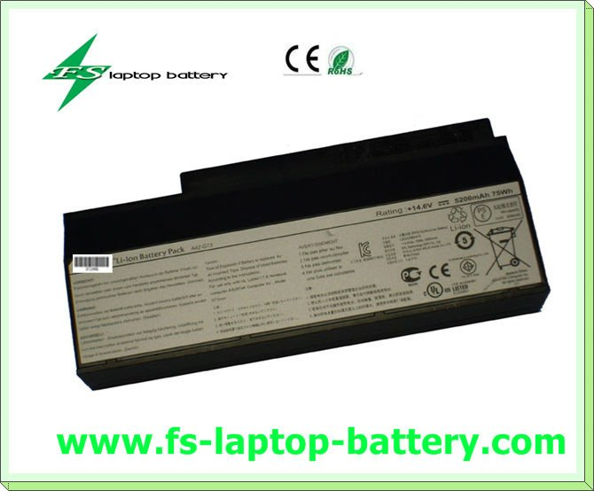 Cheap 8cells 14.6V 5200mah Original laptop battery A42-G73 for ASUS G73 Series