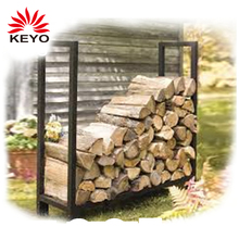 china factory Outdoor Firewood fireplace log holder storage Rack
