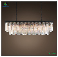 European style large hotel modern crystal chandelier from china