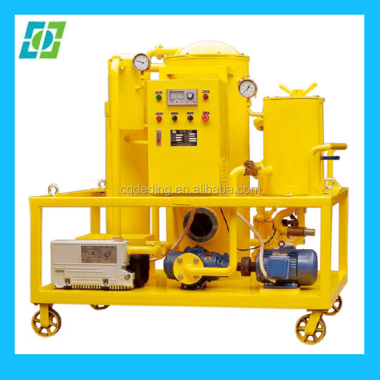 Vacuum Used Mobil Oil Recycling Machine