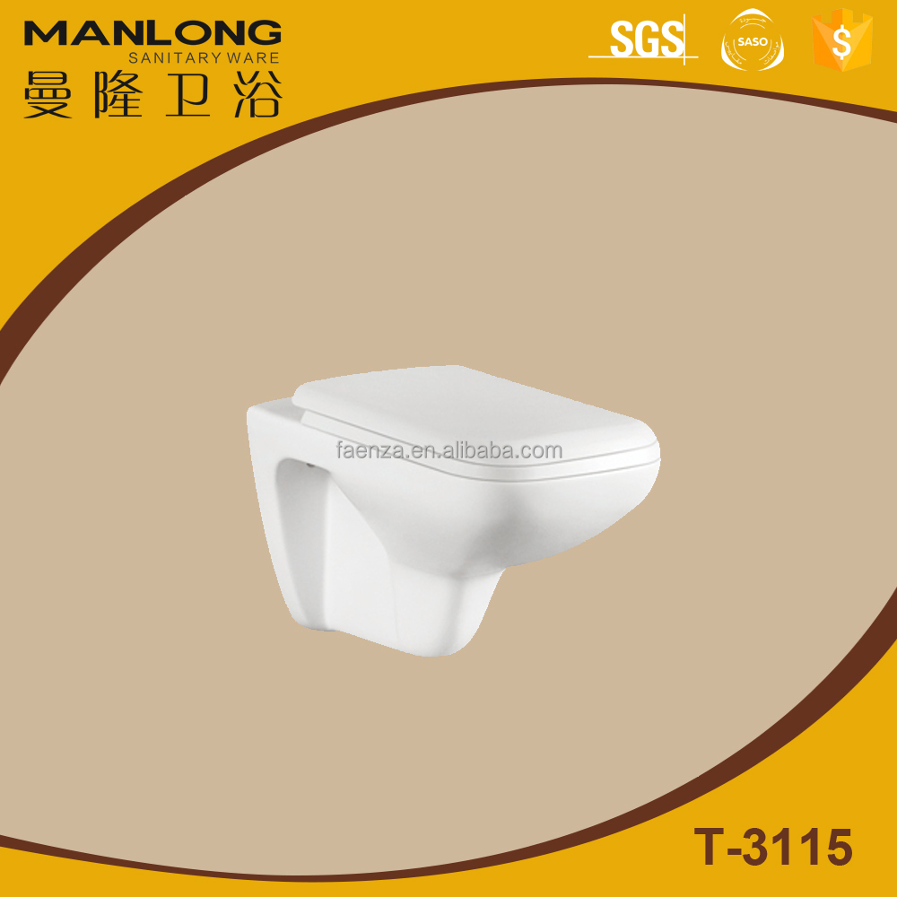 Ceramics wall hung toilet/sanitary ware washdown toilet