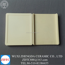 Wholesale High Temperature 99.5% alumina ceramic corrugated plate