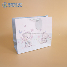 China Manufacturer Custom Color Printed Luxury Retail Gift Shopping Low Cost Paper Bag