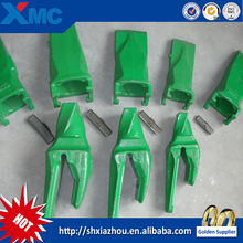 Construction machinery parts mini excavator buckets teeth used widely