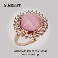 new design women vogue gold rings jewelry premier angel china wholesale cz rings jewelry