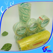 Courier plastic bag mailing sealing adhesive clear tape with strong stickness
