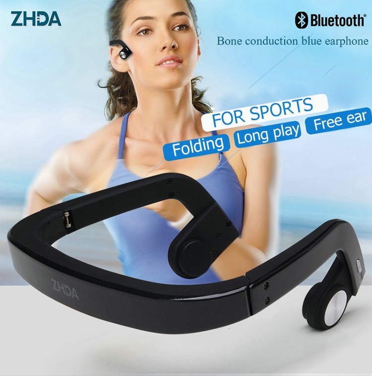 newest Sport Pulse sports bluetooth earphone headphone waterproof with HEART RATE MONITOR