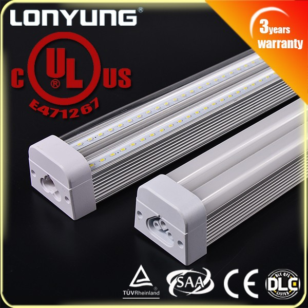 T5 integrated fluorescent lighting fixture, 30w led integrated T5 lamps