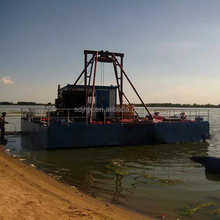 small submersible sand pump suction barge dredger for sale