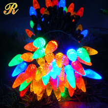 outdoor LED string lights C7 and C9