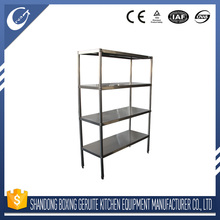 Eco-friendly Commercial Stainless Steel Kitchen Equipment Shelf