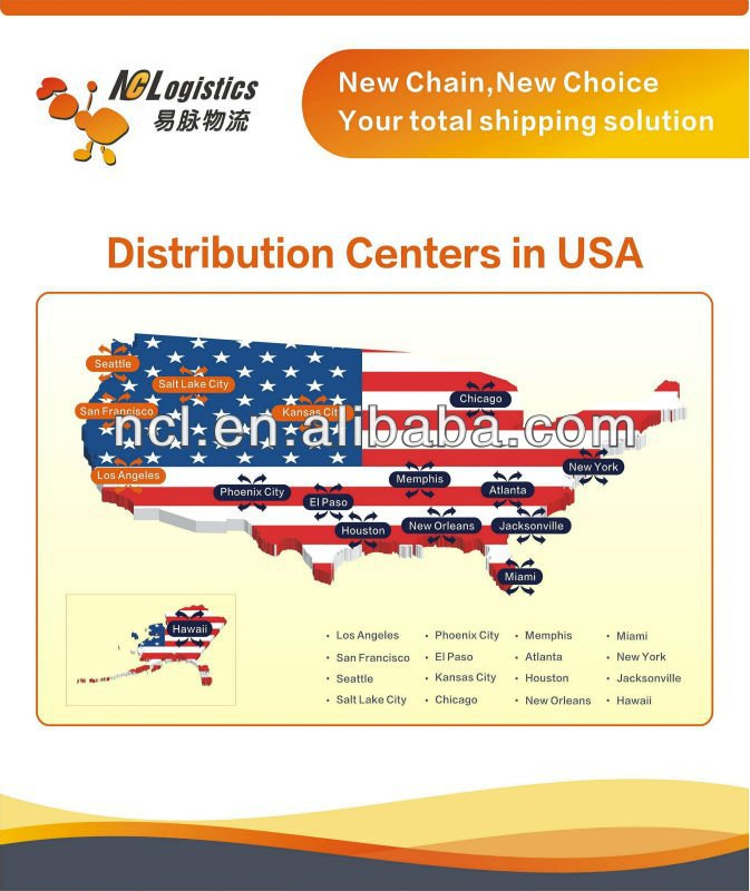 drop shipping service to Seattle WA