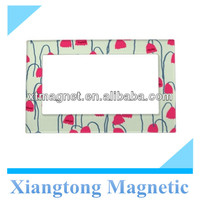 2013 Beautiful Pink Nodding Flowers Magnetic Photo Frames