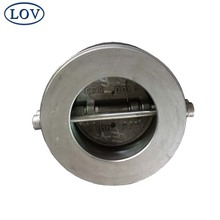 Stainless Steel Wafer Type Silent Non Return Dual Plate Check Valve Lift Duo Check Valve