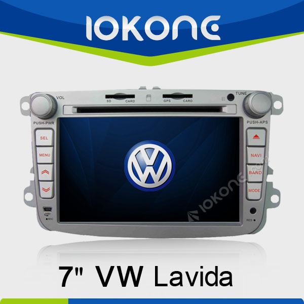 7in Touch Screen Car Audio system VW Lavida GPS Navigation