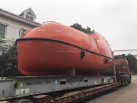 SOLAS approved totally enclosed second hand/used life boat