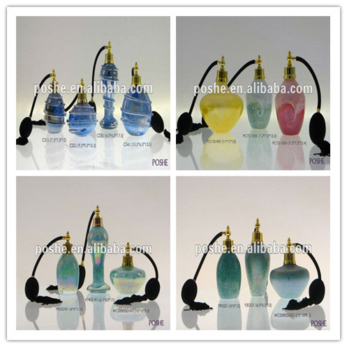 2015 China high quality handmade murano glass candle holder