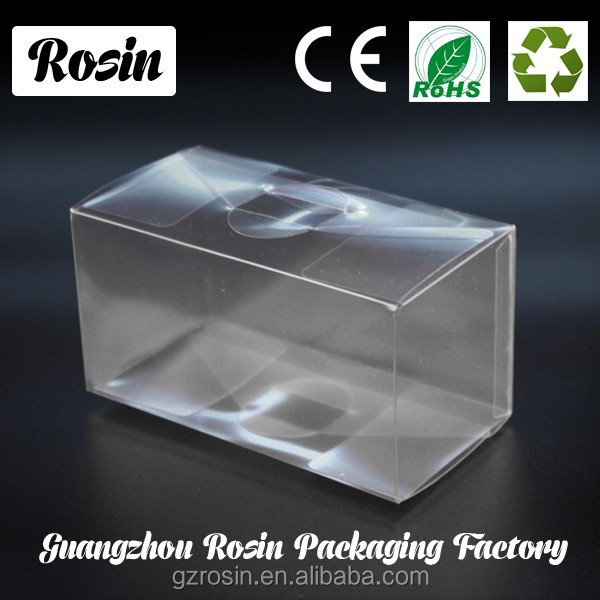 Transparent cake box, clear plastic doll box, clear trophy display box